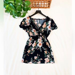Xhilaration Floral Mini Dress 🌿